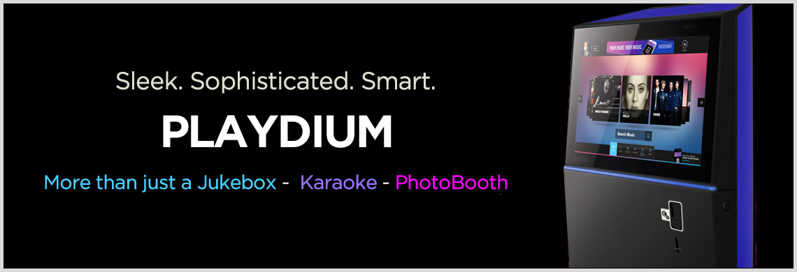 Playdium Jukebox - PhotoBooth - Karaoke