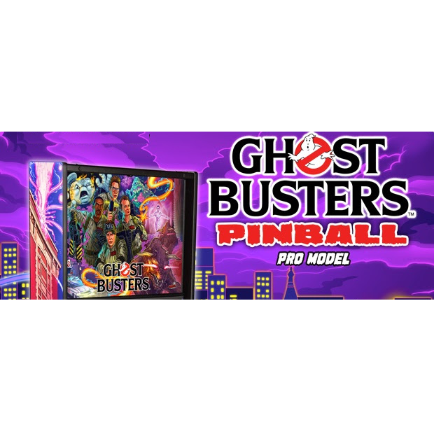 Ghost Busters Pinball Machine