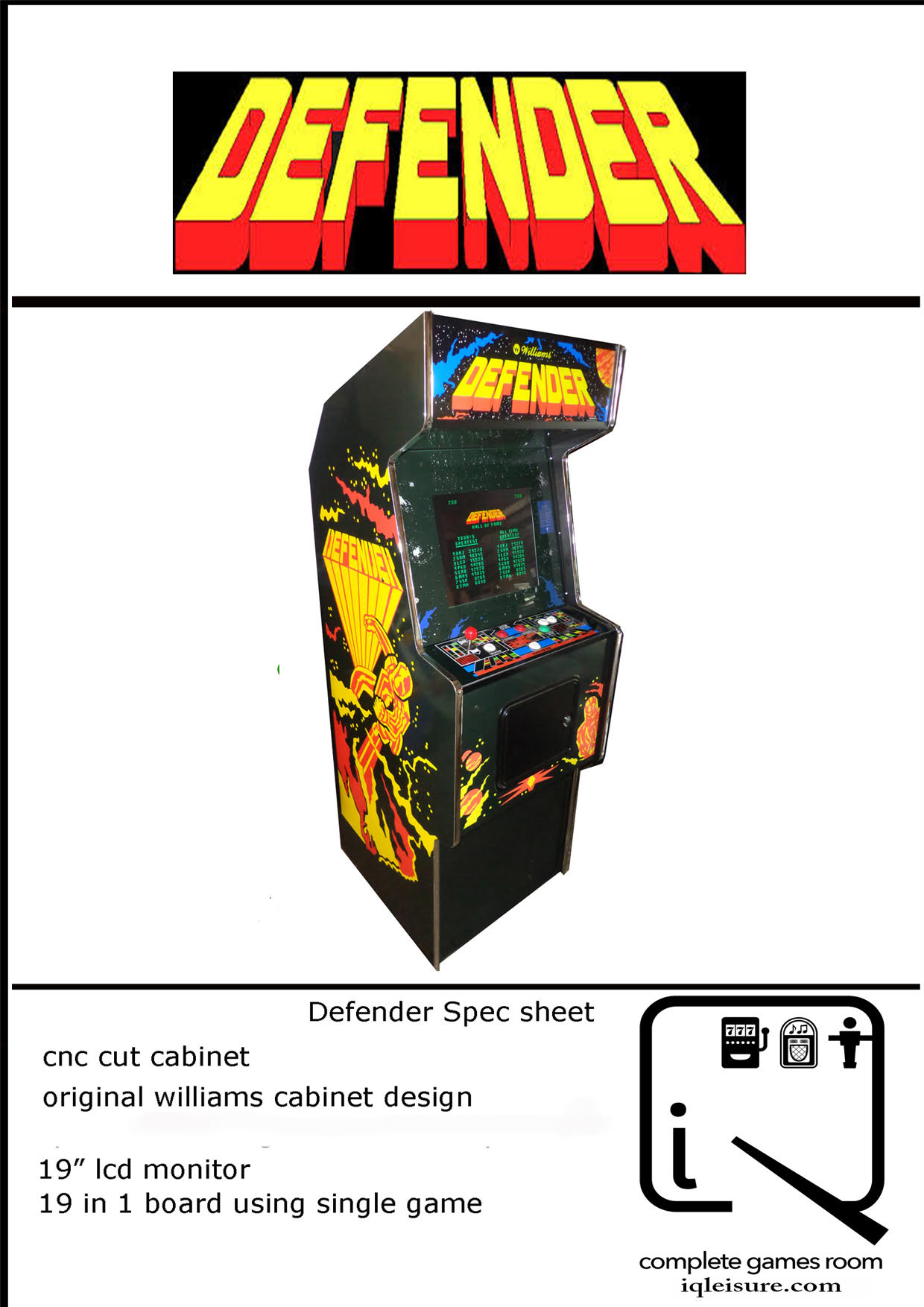Retro Arcade Machines | Arcade Machines | Brenland Leisure