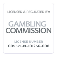 Gambling Commission Licensed & Regulated