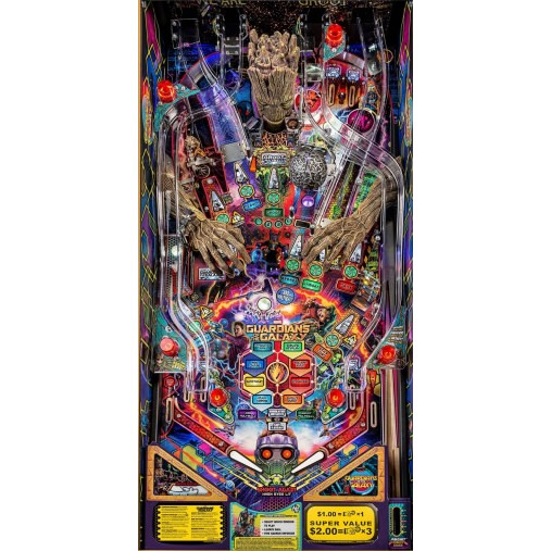 Guardians of the Galaxy Pinball Machine