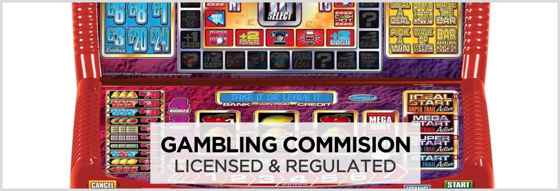 Gaming Machines - Gambling Commission Accredited