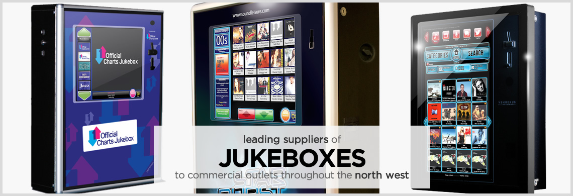 Jukeboxes for rental to pubs and clubs