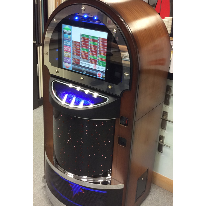 Jukebox installed in local business