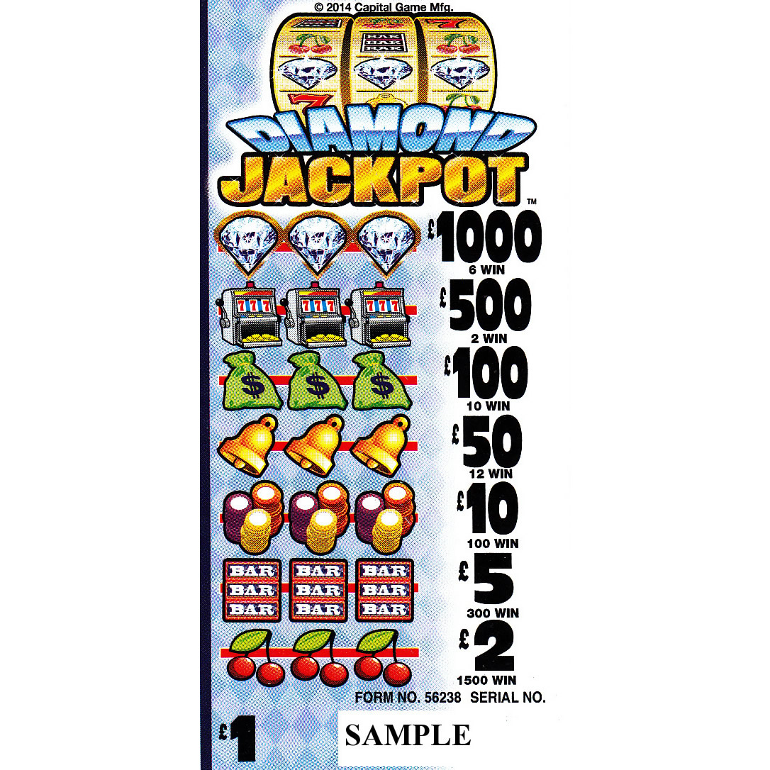 Medium Size Lottery Machine Tickets