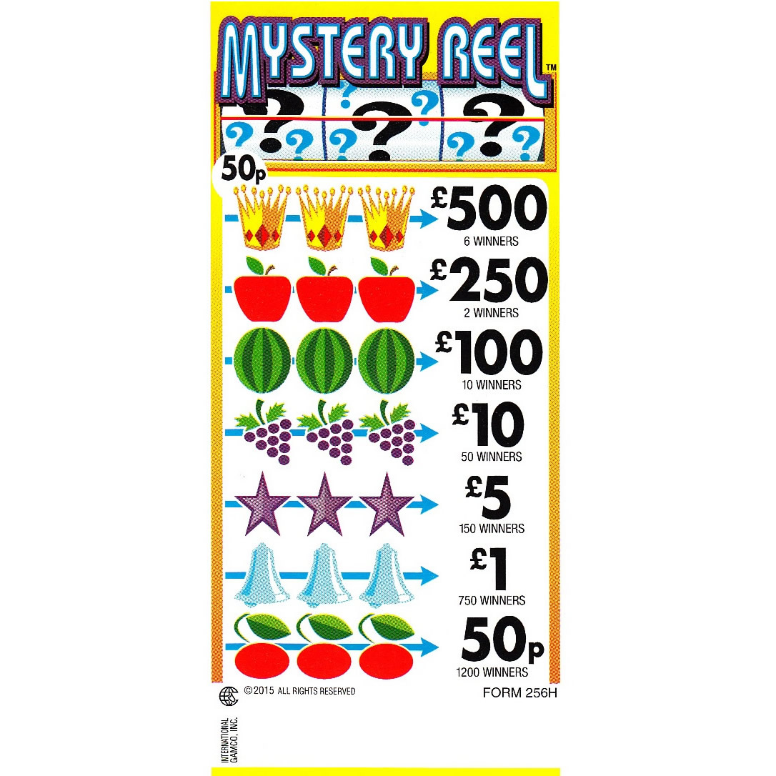 Super Size Lottery Machine Tickets