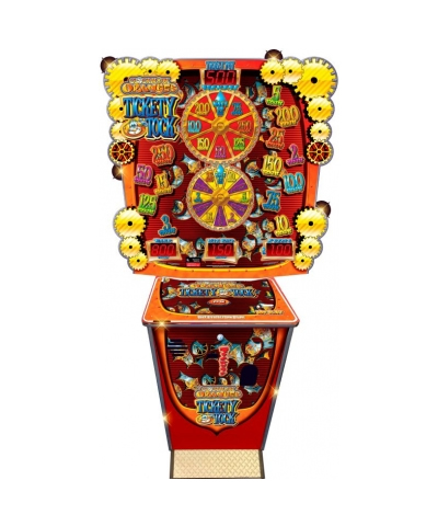 Clockwork Orange Tickety Tock gon gaming machine