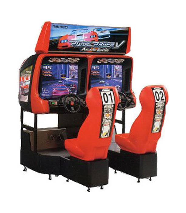 Ridge Racer Arcade Machine