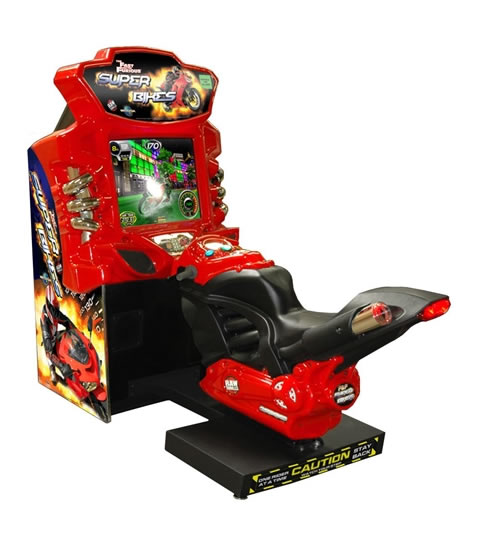 Sega Super Bikes Arcade Machine