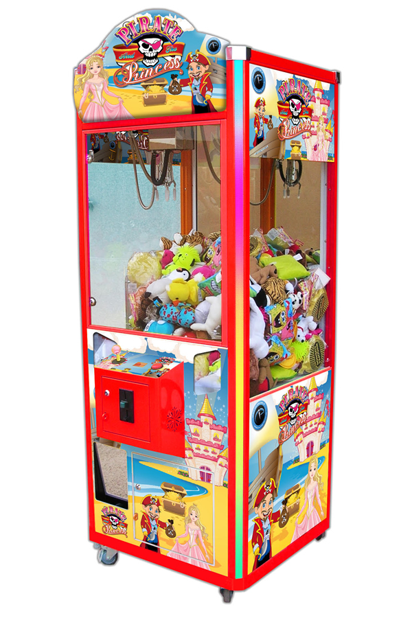 Pirates and Princesses Vending Machine