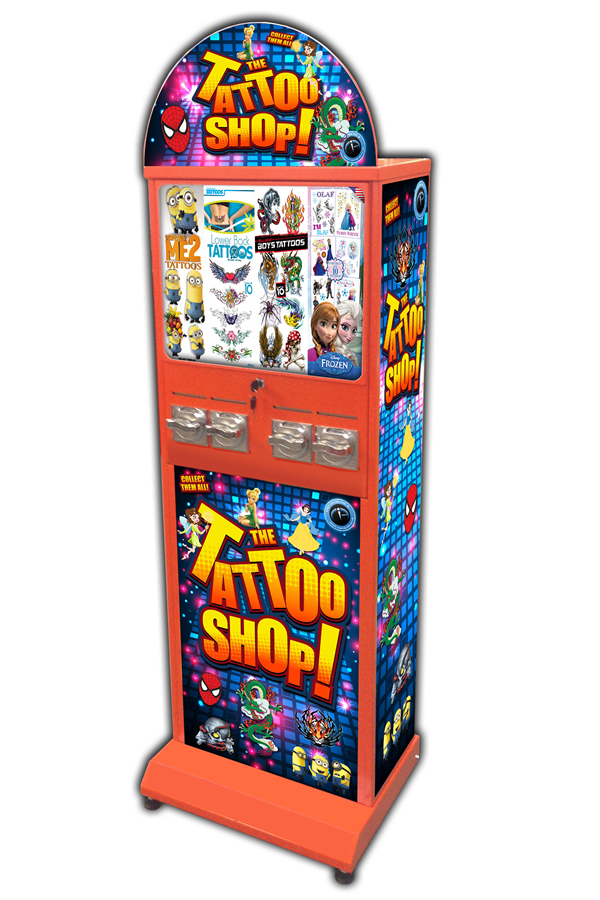 Tattoo Vending Machine
